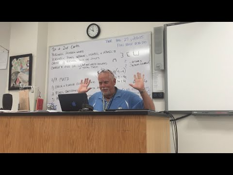 HIDDEN SPEAKER PRANK ON MY SCIENCE TEACHER!