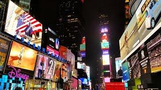 Download Video Times Square Neighborhood Walk, Midtown Manhattan, New York City MP3 3GP MP4