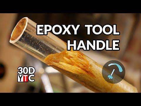Funky Tool Handle Day 19 - 30 Day Youtube Challenge - BANDARRA