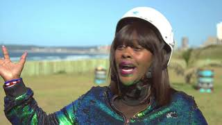 Top Billing Visits Actress Dawn Thandeka King In Durban