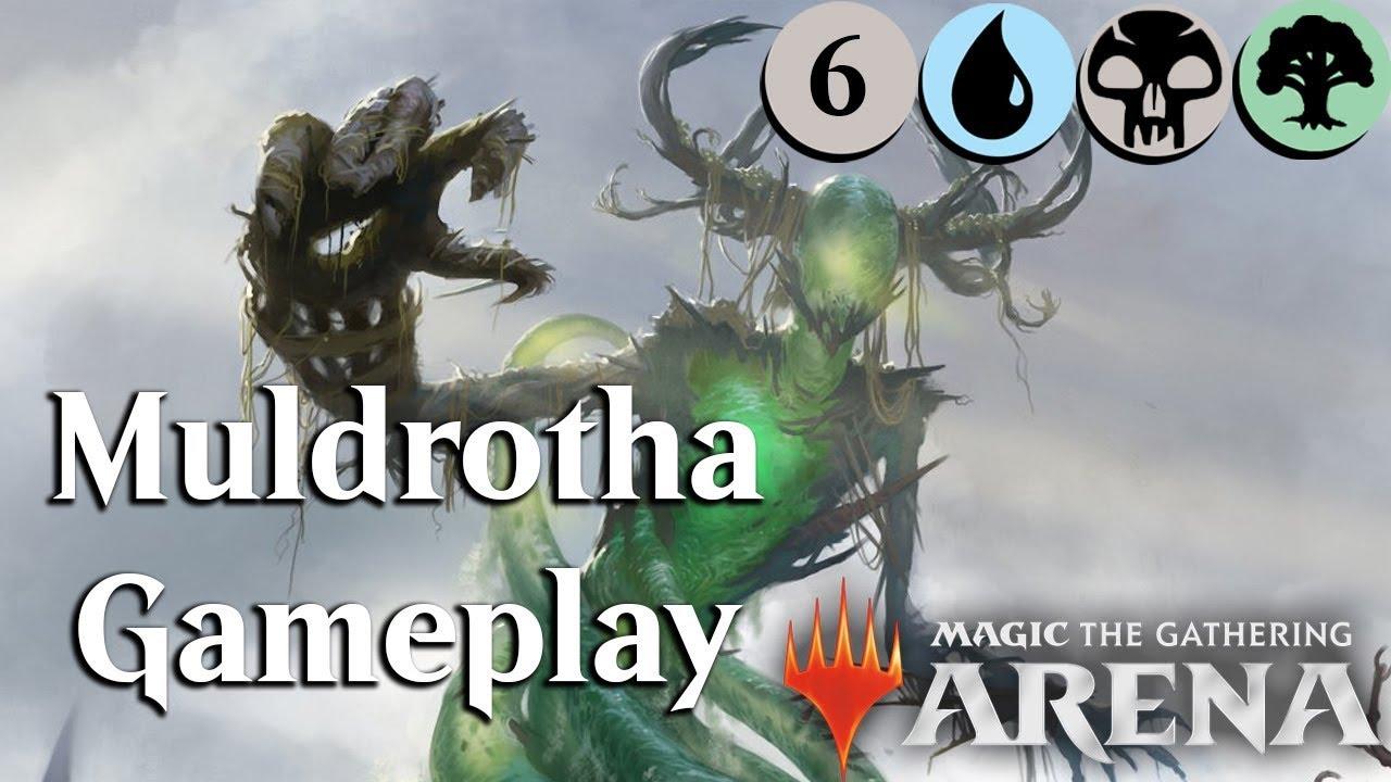 MTG Arena Beta Sultai (BUG) Muldrotha Gameplay Ep 6 [Sideboard] YouTube