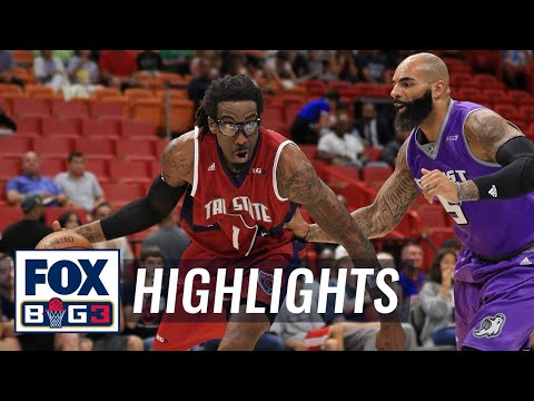 Tri-State vs Ghost Ballers | BIG3 HIGHLIGHTS