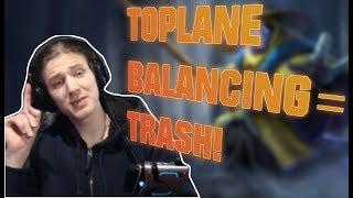 Hashinshin explains why TOPLANE BALANCING is TRASH!