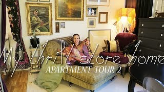 My thrift store home - 43 sqm Apartment tour!
