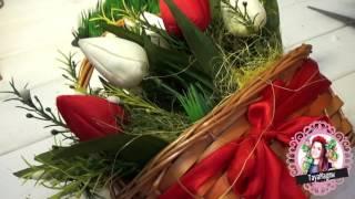 DIY/Своими руками/Подарок маме/Букет с конфетами(Приветик, к сожалению я не успела с видео на 8 марта, но данная тема будет не менее актуальна) Подарок маме..., 2017-03-09T15:38:23.000Z)