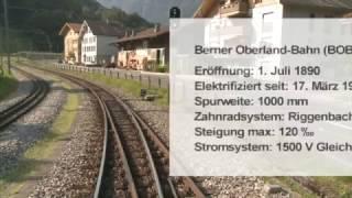 Cabride in Switzerland - Interlaken to Grindelwald