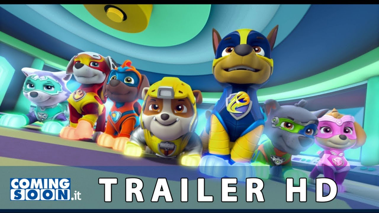 Paw Patrol Mighty Pups - Il film dei super cuccioli (2019): Trailer Italiano del Film - HD