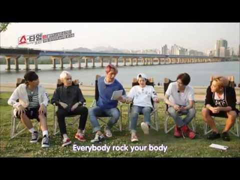 [BEAST Showtime] Dongwoon funny rap making (ep 12 cut)
