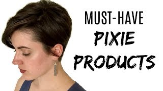 BEST HAIR PRODUCTS FOR PIXIE CUTS // CRUELTY FREE HAIR PRODUCTS // VOLUME, TEXTURE, AND SHINE