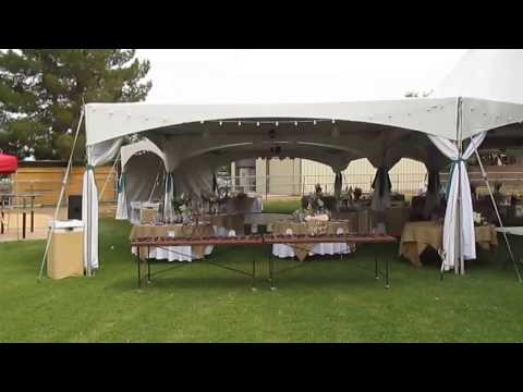 Tent Wedding for 150