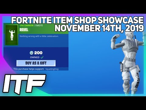 Fortnite Item Shop REVEL IS BACK! [November 14th, 2019] (For