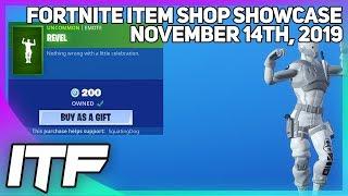 Fortnite Item Shop REVEL IS BACK! [November 14th, 2019] (Fortnite Battle Royale)