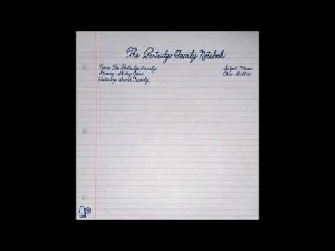 The Partridge Family Notebook 1972 Full Album (FIRST TIME OPENING--READ DESCRIPTION))