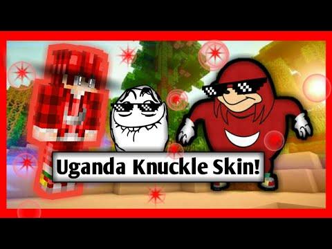 Free Skin Minecraft Uganda Knuckle anime TH | แจก สกิน วากานดาร์ นัคเคิล เวอร์ชั่น อนิเมะ