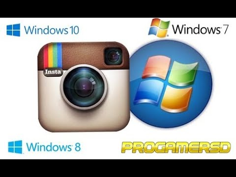 descargar instagram para windows 7 2017