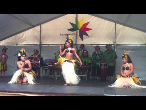 Sydney Cook Island Dance Group