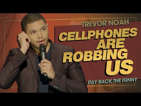 """Emojis & Selfies: Cellphones Are Robbing Us"" - TREVOR NOAH (Pay Back The Funny) 2015"