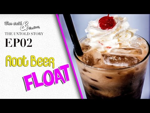 How To Make A Root Beer Float (Alcoholic)