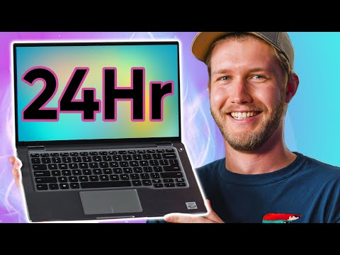 This laptop can last over 24 hours!!!