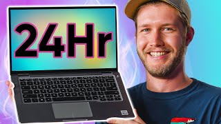 This laptop has 24 hours of battery life!!!