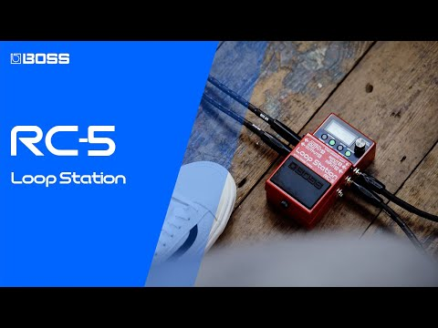 BOSS RC-5 Loop Station - Our Most Advanced Compact Guitar Looper Pedal