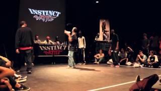 Instinct Battle 4 - Quart de final HipHop Gonzy & Raza VS Cault45 & Beez-B