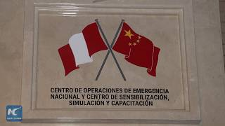 With China's help, Peru opens new National Emergency Operations Center