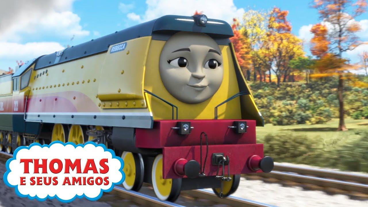 Thomas e Seus Amigos | O que a Rebecca faz (Sodor) e mais! | 30 minutos de compilação | Época 22