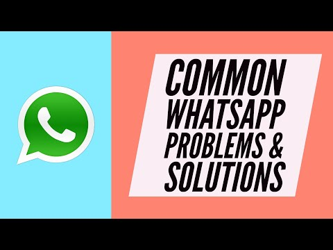 How to Fix Common WhatsApp not Working issues!