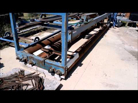 Compton triple roller concrete screed for sale | sold at auction July 28, 2015