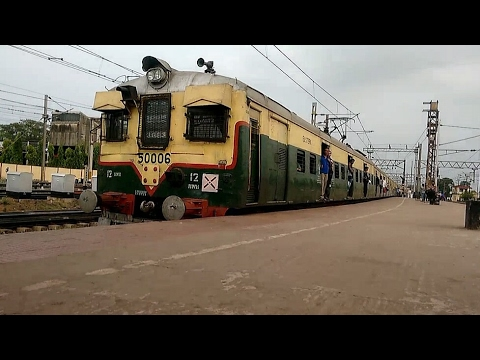 Howrah Bardhaman Main Line Local via Bandel | Arriving at Bardhaman Station | ER