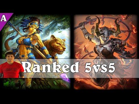 Smite: Dnial Shing - Awilix Vs Bellona [JUNGLE] - Ranked Match 5vs5 - S2