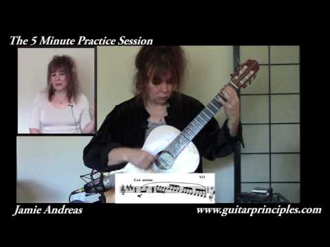 The 5 Minute Practice Session On Guitar