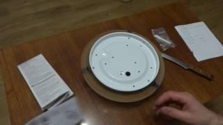 Распаковка светильника потолочного MASSIVE ZARA 70748/01/43(Ссылка на товар http://bt.rozetka.com.ua/massive-ashley-707480143/p177463/#tab=all., 2017-01-20T20:42:50.000Z)