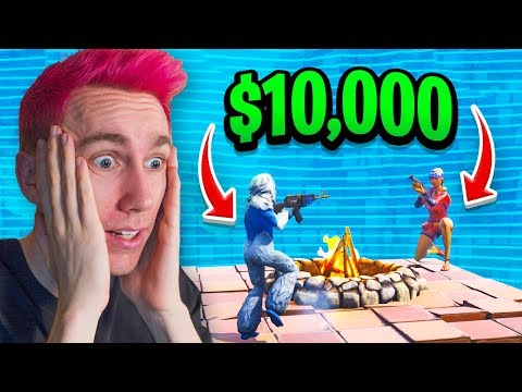 LAST ALIVE ON FORTNITE WINS $10,000