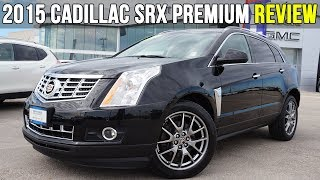 2015 Cadillac SRX Premium   Panoramic Sunroof, Cooled Seats (In-Depth Review)