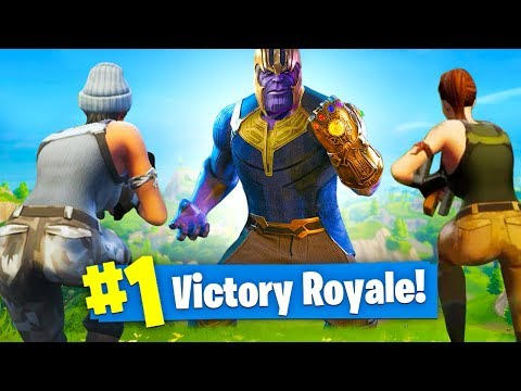 PLAYING As THANOS! - INFINITY GAUNTLET Mode In Fortnite