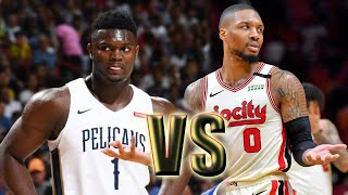 Portland Trail Blazers vs New Orleans Pelicans Full Game! February 11, 2020 NBA Season NBA 2K20