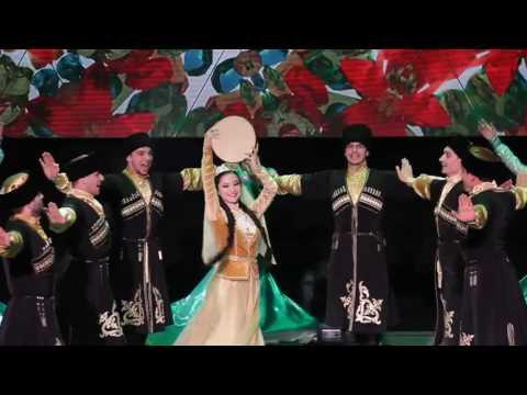 "Ансамбль ""Адат""- Азербайджанский танец (Naz Eleme)"