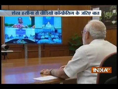 India Stands with Bangladesh in Its Fight against Terrorism: PM Narendra Modi