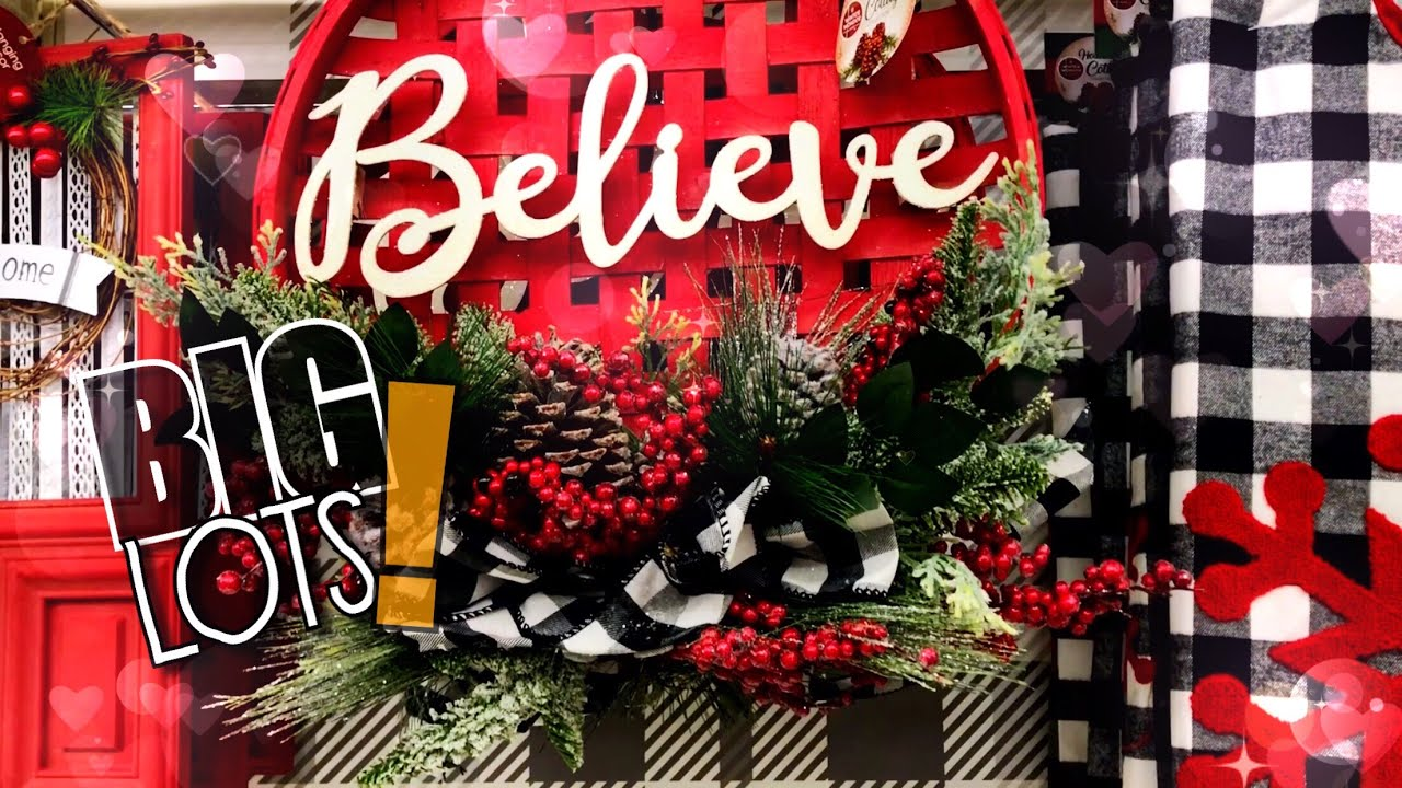 Christmas Decor 2019 Big Lots Part Two Youtube