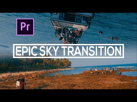 Tutorial How-To Make Sky Transition   Edit in Adobe Premiere Pro #SkyTransition thumbnail