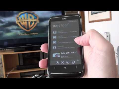 XBMC through the new TV