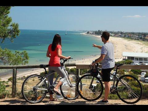 Adelaide by Bike in Winter (Coast 1)