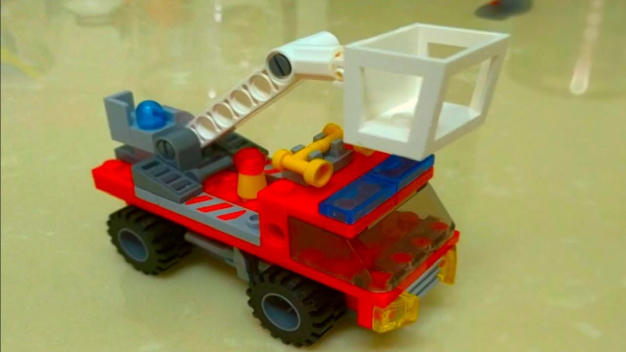 Lego monster truck and cars for kids. Big wheel car cartoon