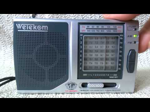 Test für Ebay : Wetekom KK-9803 - 10 Band Weltempfänger