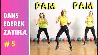 Pam Pam Zumba ile Eğlenerek Yağ Yakıyoruz