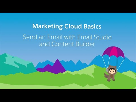 Email Studio & Content Builder - Send an Email