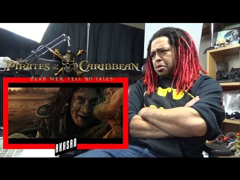 PIRATES OF THE CARIBBEAN: DEAD MEN TELL NO TALES Official Trailer #3   REACTION & REVIEW