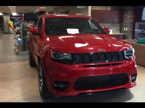 2018 Grand Cherokee Trackhawk >> 2017 Jeep Grand Cherokee SRT in Redline Pearl | 17GC5530 | Crosstown Auto Centre - YouTube